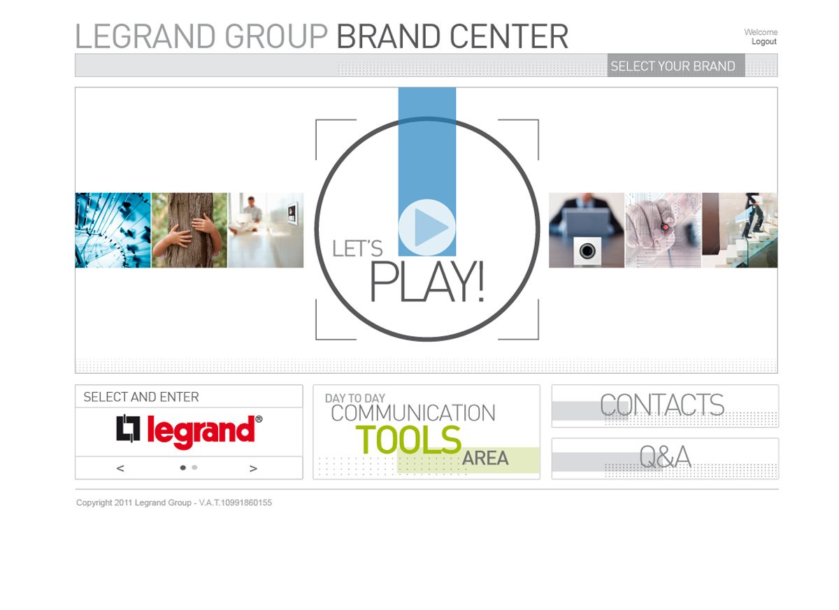 Alberto Sala Design - Legrand Group Brand Center